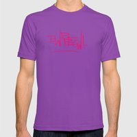 EWRREOWL Mens Fitted Tee Ultraviolet SMALL