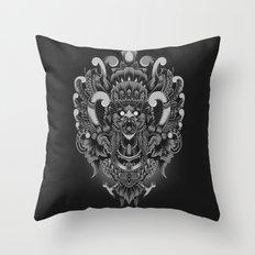 Majestic Garuda Throw Pillow