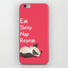 Cat's Life iPhone & iPod Skin
