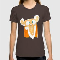 Monkey Womens Fitted Tee Brown SMALL