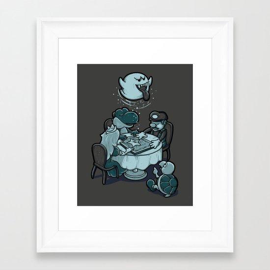 Evoked Framed Art Print
