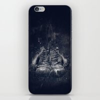 DARK GLOVES iPhone & iPod Skin