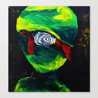 Bloody Cyclops Canvas Print