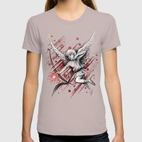 Cupid Womens Fitted Tee Cinder SMALL