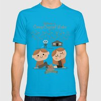 welcome to camp crystal lake Mens Fitted Tee Teal SMALL