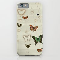 Butterfly Coordinates iii iPhone 6 Slim Case