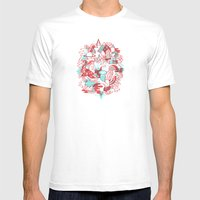 Space Deluxe Mens Fitted Tee White SMALL