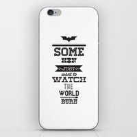 Dark Knight iPhone & iPod Skin