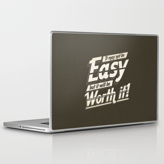 It may not be easy... Laptop & iPad Skin