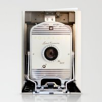Polaroid 800 Vintage Cam… Stationery Cards