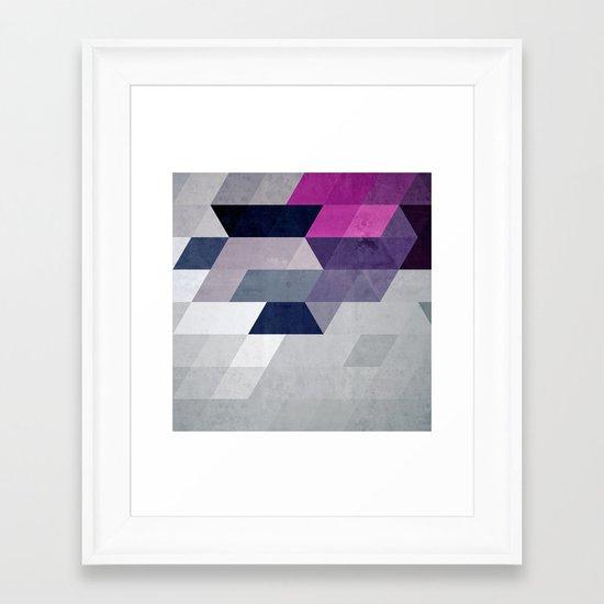 nnyk ppyk Framed Art Print