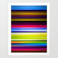 Light Beams Art Print