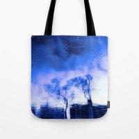 Winter Blue(s) 2>3 Tote Bag