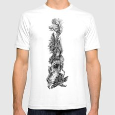 New Birth Mens Fitted Tee White SMALL