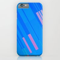 iPhone & iPod Case featuring Canopus Blue Pink by Greg Stedman Illustration