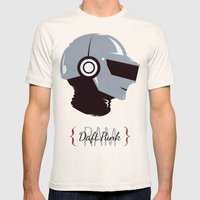 Daft Punk - RAM (Thomas) Mens Fitted Tee Natural SMALL