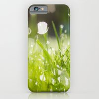 iPhone & iPod Case featuring grassy morning by Erin Slonaker