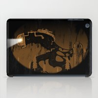 oil monster iPad Case