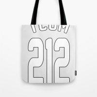 TCOM 212 AREA CODE JERSE… Tote Bag