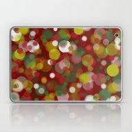 Christmas Bokeh Laptop & iPad Skin