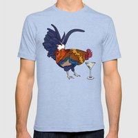 Cocktails Mens Fitted Tee Tri-Blue SMALL