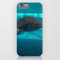 iPhone Cases featuring Hello Turtle by BrookeCharm