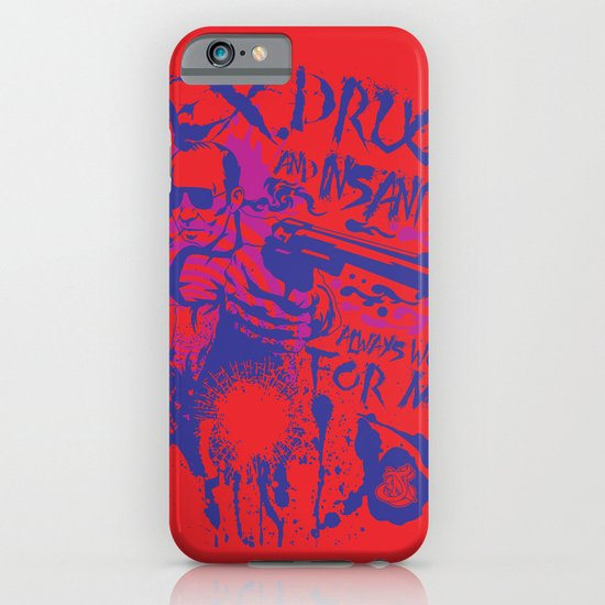 Sex,Drugs and Insanity iPhone & iPod Case