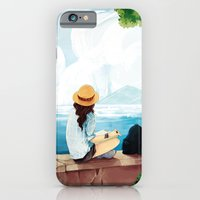 iPhone & iPod Case featuring Trip to the sea by Raven Ngo