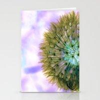 Dandelion Sunrise Stationery Cards