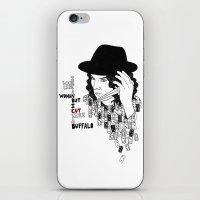 Jack White Cuts Like a Buffalo iPhone & iPod Skin