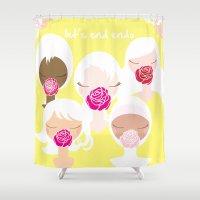 Let's End Endo - It's Ok… Shower Curtain