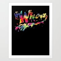 Whoah Art Print