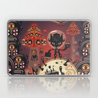 DJ Hammerhand Cat - Part… Laptop & iPad Skin