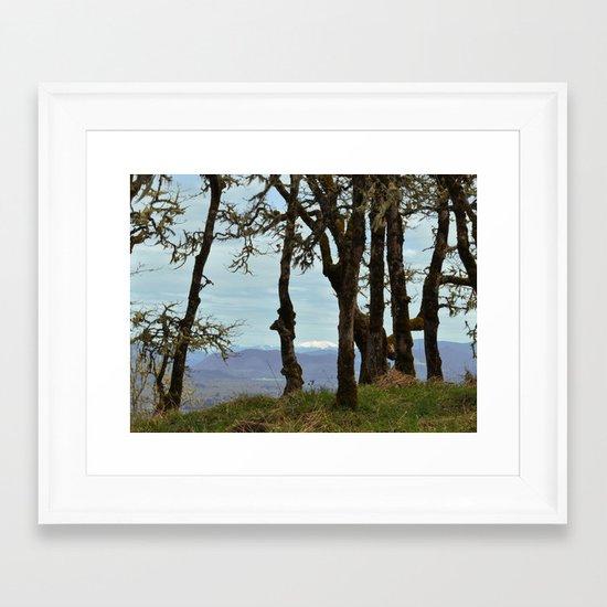 From Mt. Pisgah Framed Art Print