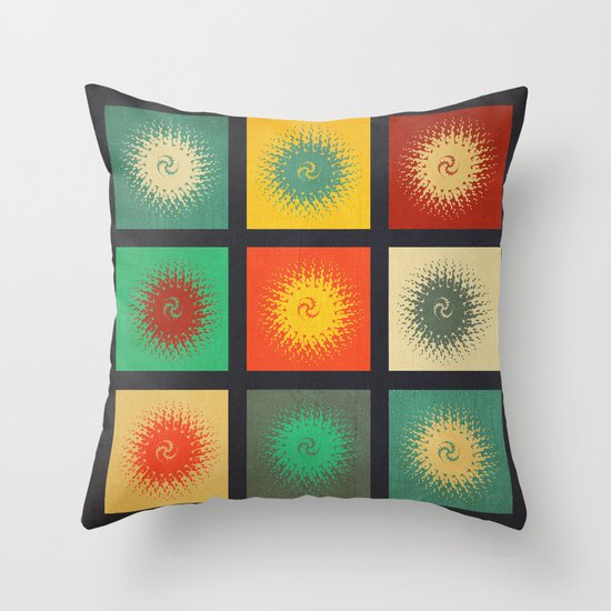Textures/Abstract 90 Throw Pillow