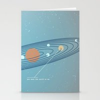 You Mean the World To Me Stationery Cards