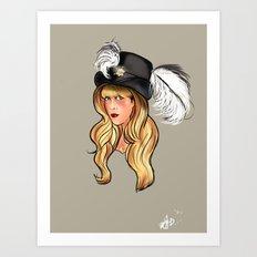 Mama Stevie Art Print