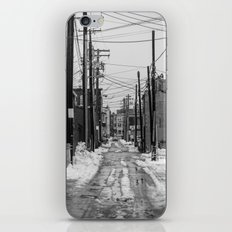 Winter Alley iPhone & iPod Skin