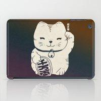 FORTUNE CAT iPad Case