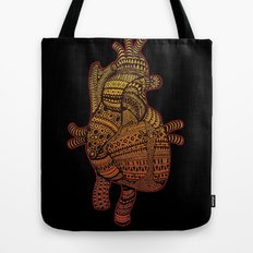 Native Heart  Tote Bag