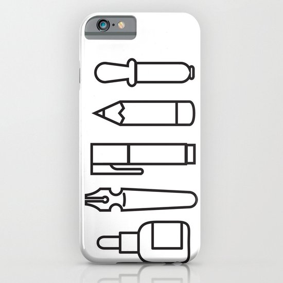 CREATIVE TOOLS / Geometrical portrait of my creative tools. iPhone & iPod Case
