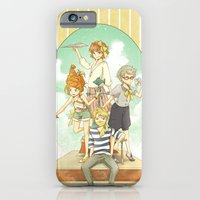 iPhone & iPod Case featuring The Mermaid Club by Moonsia