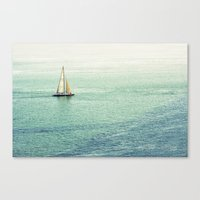 Canvas Print featuring Sailing by Lawson Images