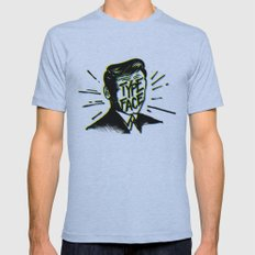 Typeface Mens Fitted Tee Athletic Blue SMALL