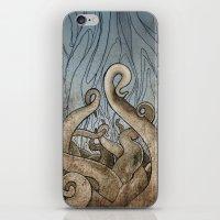 Tentacles iPhone & iPod Skin