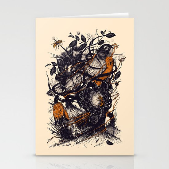 Natural Mystic Stationery Card