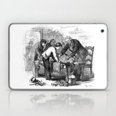 Dr. Crowley's Experiment  Laptop & iPad Skin