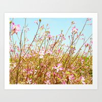 Fort Brag Flowers II Art Print