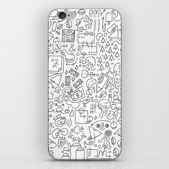 Doodle Do iPhone & iPod Skin