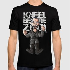 Kneel!!! Mens Fitted Tee Black SMALL